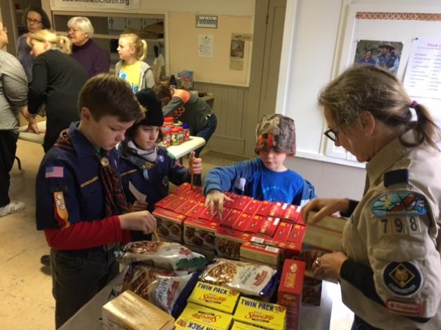 Cub Scouts Community Service